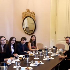 Studenti VS Ekonomická diplomacie prezentovali své práce na MZV ČR