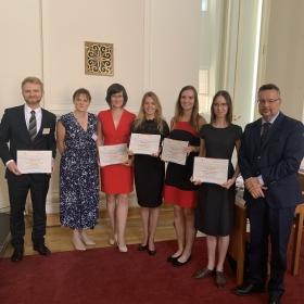 Předání certifikátů Ekonomická diplomacie